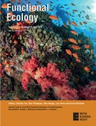 Functional Ecology cover anthropocene corals 2019